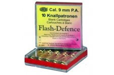 Flash Defence náboje 9mm pištol 10ks