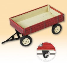 Trailer red, KOVAP 0430